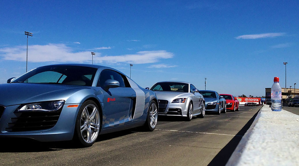 Our Audis at the Start Line